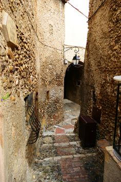 Old Town in Cagnes-sur-Mer