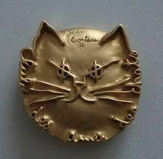 эмблема Клуба Друзей Кошек. Жан Кокто