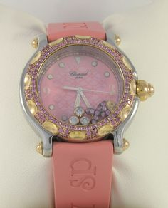 Love this watch... the price is insane though! $17,000 orig. Chopard Happy Sport watch.