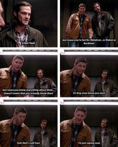 [gifset] 9x21 King Of The Damned #SPN #Dean #Sam