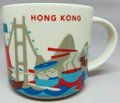"""Hong Kong - """"You Are Here"""" Starbucks Mug"""