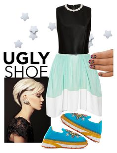 """""""UGLY SHOES"""" by prettyroses ❤ liked on Polyvore featuring 3.1 Phillip Lim, Dolce&Gabbana and Simone Rocha"""