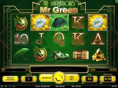 The Marvellous Mr Green 2014 on Behance Casino Slot Games, Game Interface, Coin Values, Slot Machine, Behance, Colour, Green, Color, Colors