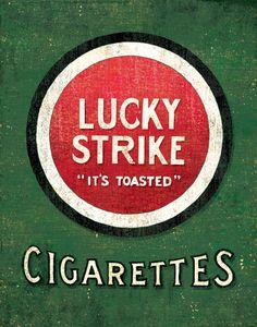 172 mejores imágenes de Lucky Strike en 2019 | Anuncios antiguos