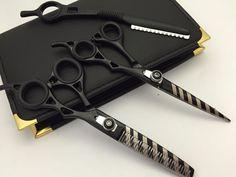 New Professional Hair Cutting Thinning Scissors Barber Shears Hairdressing+Razor #scissorsplus