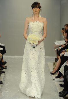 Theia Fall 2015 Wedding Dress Collection Includes Knit Turtleneck Dress | TheKnot.com