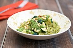 Dear Pesto Risotto With Roasted Zucchini,  Thank you for existing.   Love,  VegNews