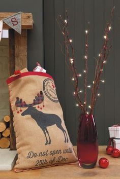 Moose Present Sack from Next