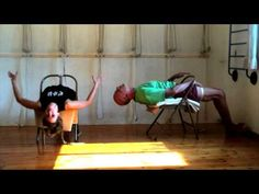 A Chair for Yoga - A complete guide to Iyengar Yoga practice with a chair - YouTube