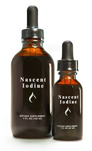 Nascent Iodine. Best Iodine for just about any Health condition. Westerners are severely iodine deficient.