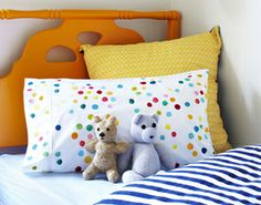 Smartie Pillowslip by Poppies for Grace