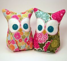 Added some new colorful owl bookends to the shop!
