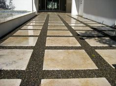"""Figure out more relevant information on """"patio pavers diy"""". Take a look at our w… – Keramik Outdoor Patio Pavers, Outdoor Patio Designs, Paver Walkway, Patio Layout, Patio Flooring, Concrete Pavers, Patio Furniture Sets, Interior, Pavers Ideas"""