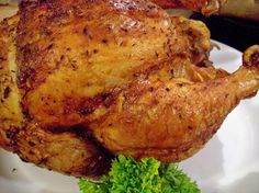 Beer Can Chicken With Rosemary & Thyme