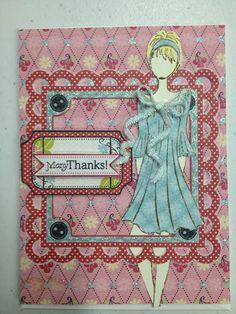 Jen Lowe Designs: More Julie Nutting doll stamps