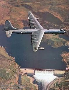 B36 fly over. Great photo. It is! I remember one of these as a static display at Chanute AFB IL. back in 1973. It's a big old bird.