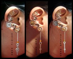 Hey, I found this really awesome Etsy listing at https://www.etsy.com/listing/117871886/steampunk-clock-hand-ear-cuff