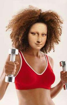 Mona Weight-Lifter