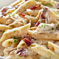 Cheesy Ranch Chicken Pasta | i am baker