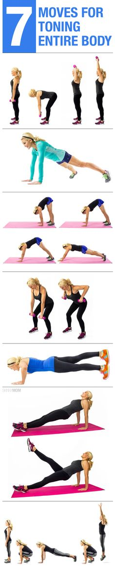 7 moves to tone your entire body.
