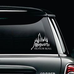 Harry Potter Car Decal, Hogwarts Honor Roll Car Decal by KKDcustomized on Etsy
