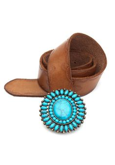 I've been looking for a turquoise belt. I think i've found it.