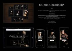 "MOBILE WEBSITE : ""MOBILE ORCHESTRA [image]"" Case study  by Akqa San Francisco"