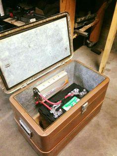Faux tool box/battery box