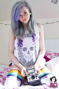 #suicide #girls #tattoos #ink #inked  #tattoo #tattooed #piercing #pierced