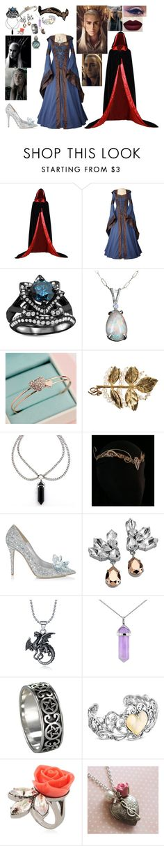 """Meeting thranduil at his place"" by keeliewatsonoffical on Polyvore featuring Dsquared2, Jimmy Choo, Mews London, Lord & Taylor, Carolyn Pollack/Relios and Mawi"