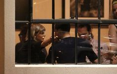 Tom Hiddleston gives Taylor Swift tender smooches during their romantic dinner date (Photos)