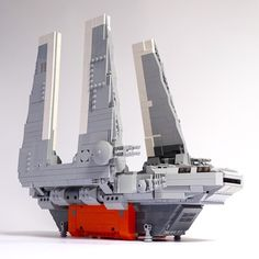 "[MOC] Imperial Cargo Shuttle Zeta-class SW 0608 ""Rogue One"" - LEGO Star Wars - Eurobricks Forums"