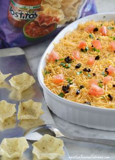Seven layer dip bites are quick and easy to make and fun to eat. You can make a batch for game day or for an easy appetizer anytime!