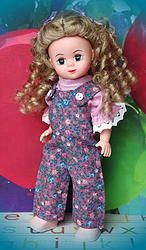 ~JuST GiNNy~ Overall and Shirt Set for M.A. Wendy, Vogue Ginny, or Muffie. In stock at my website now! Click the pix.