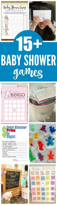 15 Entertaining Baby Shower Games - Pretty My Party