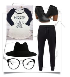 """Got That Hippie Soul"" by i-dont-believe-in-humans ❤ liked on Polyvore featuring MANGO and Yves Saint Laurent"