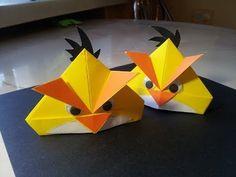 Оригами Angry Birds. Поделки из бумаги - YouTube