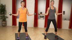 Grab a set of five-pound dumbbells and take five minutes to sculpt some seriously sexy arms! This...