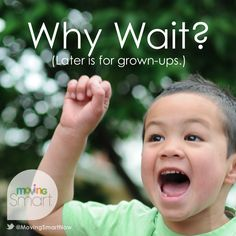 "Kids are naturally impatient because ""now"" is all they know! Why kids don't understand time the way we do plus 10, one-minute activities to help kids learn about time."