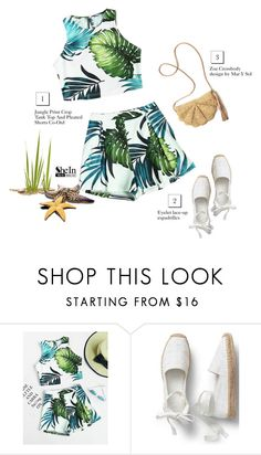"""Shein"" by tawnee-tnt ❤ liked on Polyvore featuring Mar y Sol"