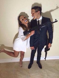 His and her Halloween costume