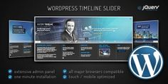 Buy WordPress Timeline Slider by ZoomIt on CodeCanyon. Timeline Slider is the definitive plugin to build your history timelines. Its main configuration can be easily custom. Jquery Ui, Jquery Slider, Wordpress Slider, Wordpress Plugins, Values Examples, Css Style, History Timeline, Admin Panel