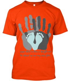 Father's Day T Shirt Orange T-Shirt Front