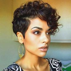 20 Very Short Curly Hairstyles   http://www.short-haircut.com/20-very-short-curly-hairstyles.html