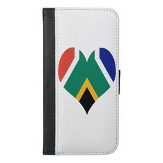 Purchase a new Flag case for your iPhone. Africa Flag, Iphone Wallet, Iphone Case Covers, South Africa, African, Gifts, Presents, Gifs, Favors
