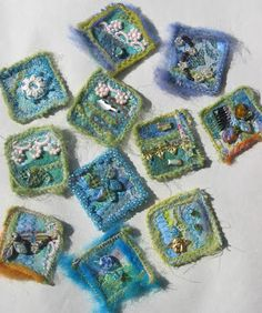 Needle Felted Inchies