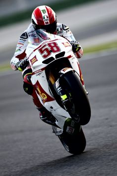 Remember Marco Simoncelli #58