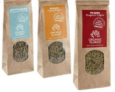 Greek Organic Dried Herbs  2pcs30g each  by GreekProducts on Etsy, €5.10