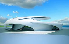 "PICTURES: Futuristic ""Jet House"" Includes Elevator, Doesn't Fly - TechEBlog"
