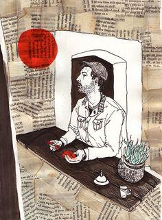Lacoste Sketchbook www.illuninare.de